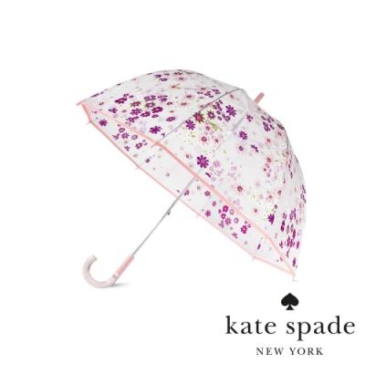 KATE SPADE 落英繽紛透明直立雨傘 Pacific Petals