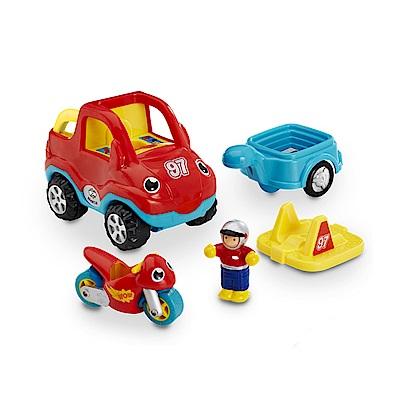 英國驚奇玩具 WOW Toys - 馬可的摩托車隊