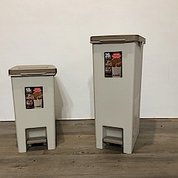 創意達人杜克腳踏式垃圾桶(18L+28L)2入組