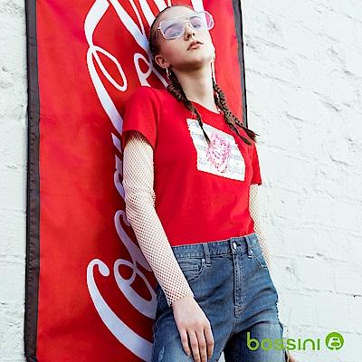 bossini女裝-CocaCola印花T恤01紅