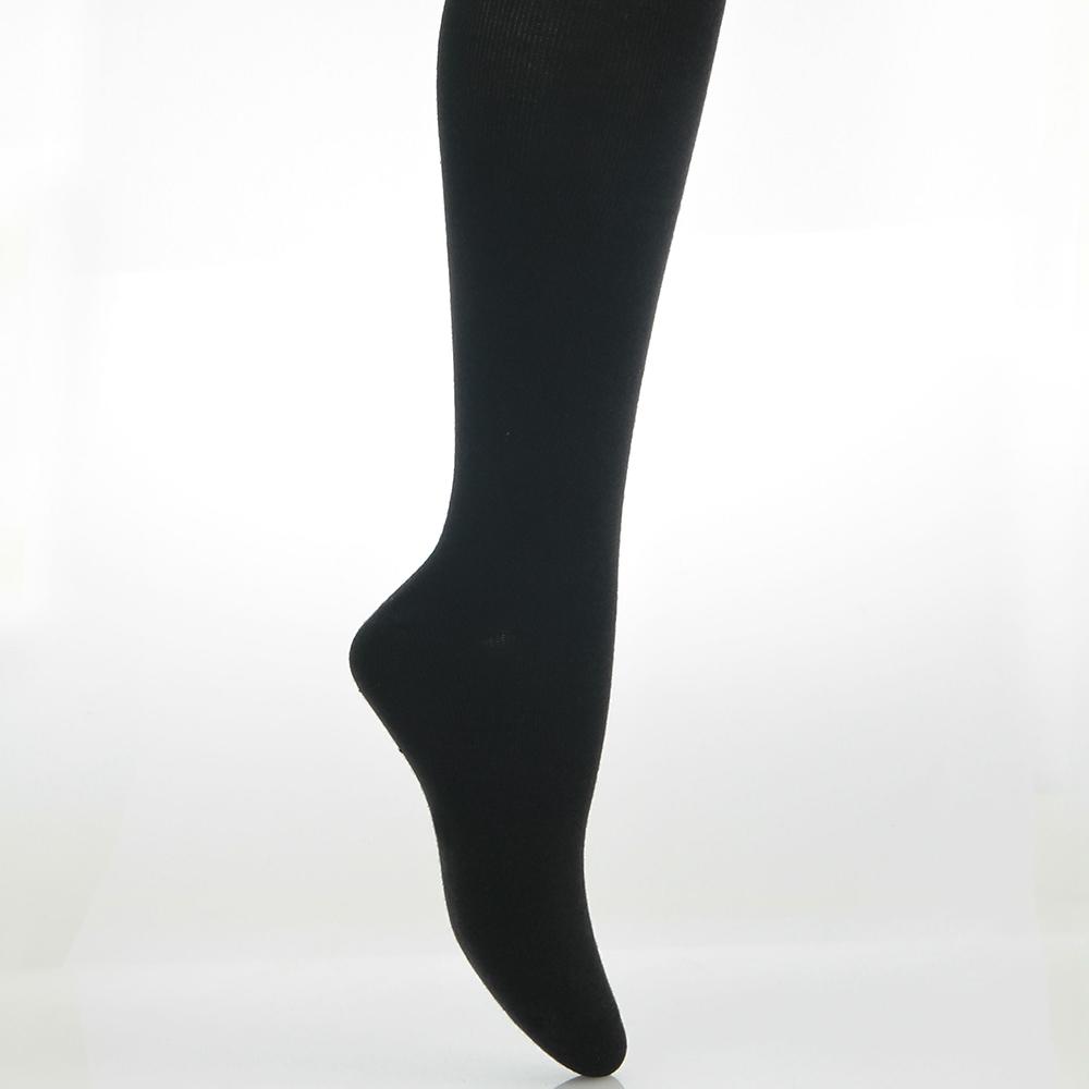 A.S.O 抑菌除臭學生襪-半筒- 黑