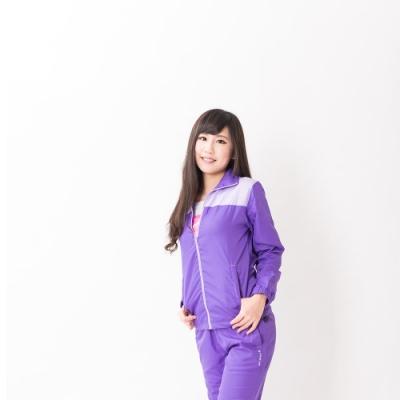 【FIVE UP】女款風衣外套-紫