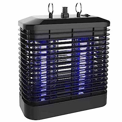 KINYO 強力8W電擊式UVA燈管捕蚊燈(KL-7081)雙燈管+吊環