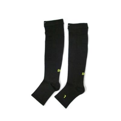 MIZUNO 男 日製-BG 襪套 黑芥末綠