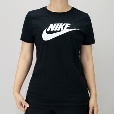 NIKE TEE ESSNTL ICON FUTUR 女 短袖上衣 黑-BV6170010