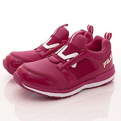 FILA頂級童鞋 彈力運動鞋款 FO02S-221紅(中小童段)