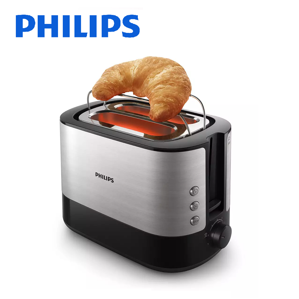 【PHILIPS飛利浦】電子式智慧型厚片烤麵包機 HD2638