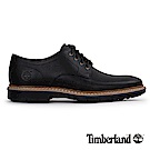 Timberland 男款黑色素面綁帶休閒鞋