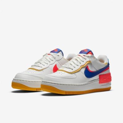 Nike 休閒鞋 Air Force 1 Shadow 女鞋 基本款 舒適 簡約 球鞋 穿搭 白 藍 CI0919105