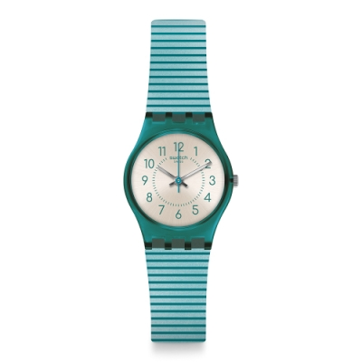 Swatch Gent Standard 原創系列手錶 PHARD KISSED 浪漫海灘-25mm
