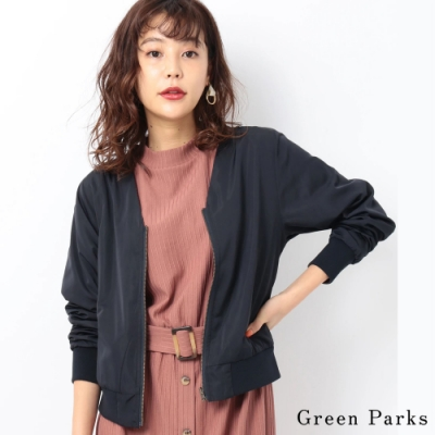 Green Parks 2WAY簡約V領休閒夾克外套