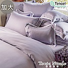 Tonia Nicole東妮寢飾 奧黛麗環保印染100%萊賽爾天絲被套床包組(加大)