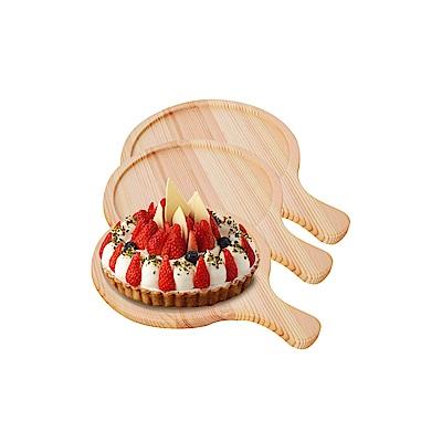 WASHAMl-松木食物盤-披薩盤9吋3入組