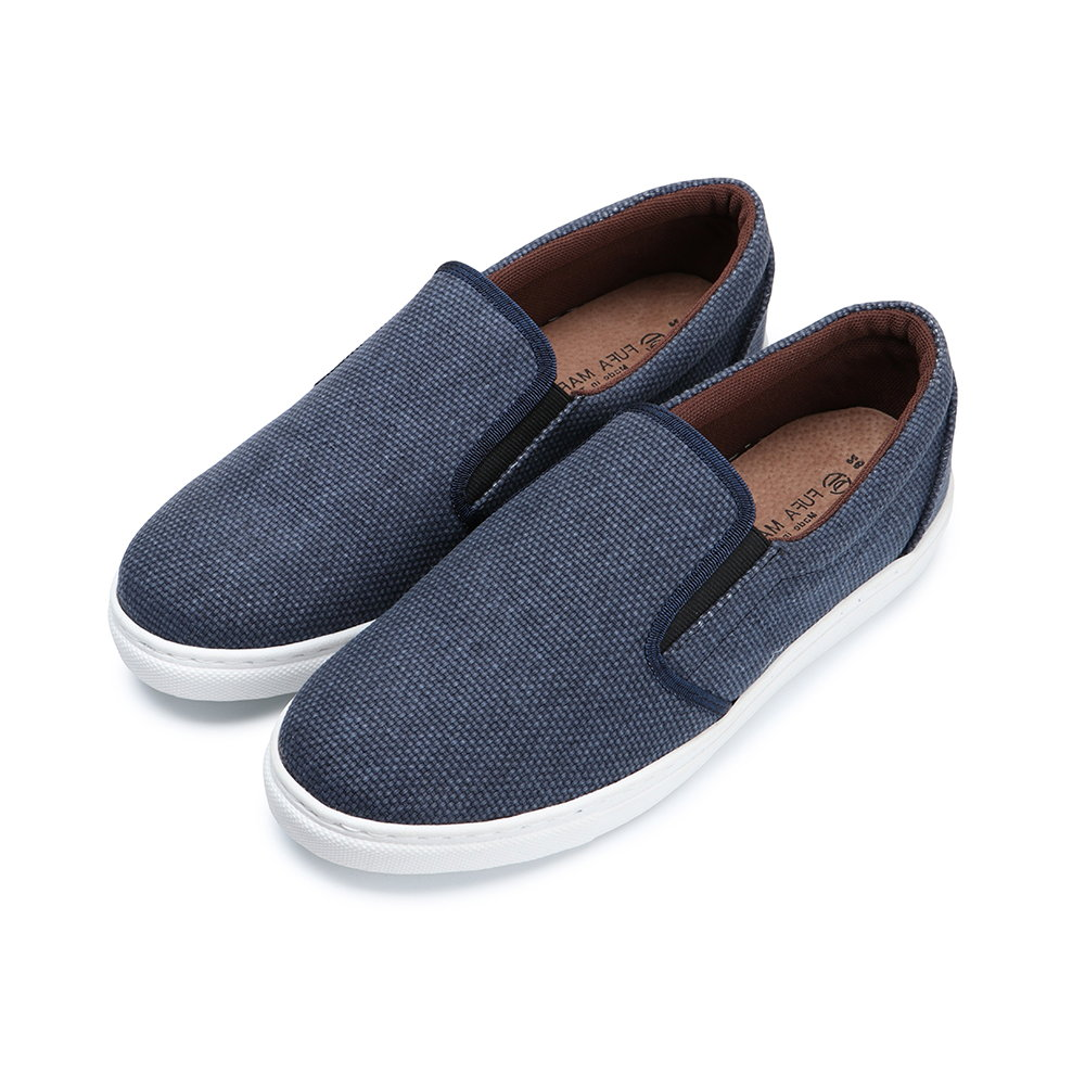 BuyGlasses MEN S口未懶人鞋-藍
