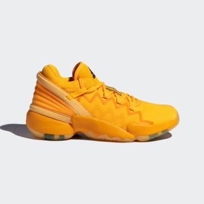 adidas 籃球鞋 D O N ISSUE 2 GCA 男鞋 愛迪達 Crayola 蠟筆 米邱 二代 黃色 FW9048