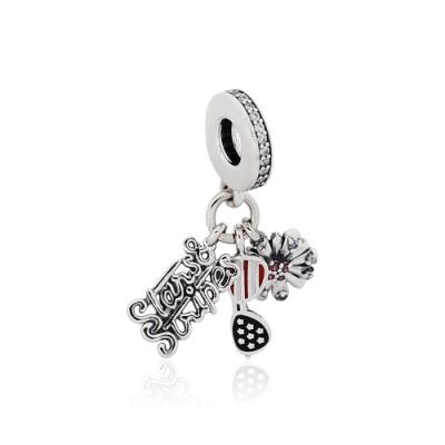 Pandora 潘朵拉 魅力美國標誌 垂墜純銀墜飾