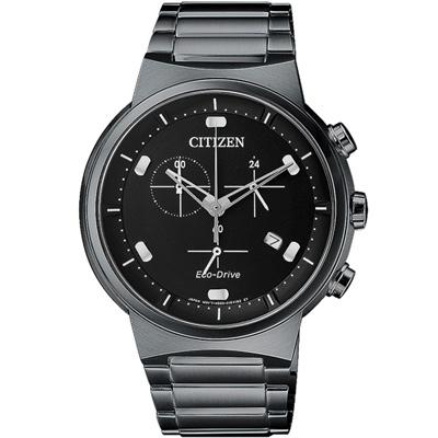 CITIZEN 機動爆破三眼時尚計時手錶(AT2405-87E)