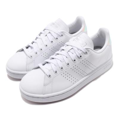 adidas 休閒鞋 Advantage 復古 皮革 女鞋