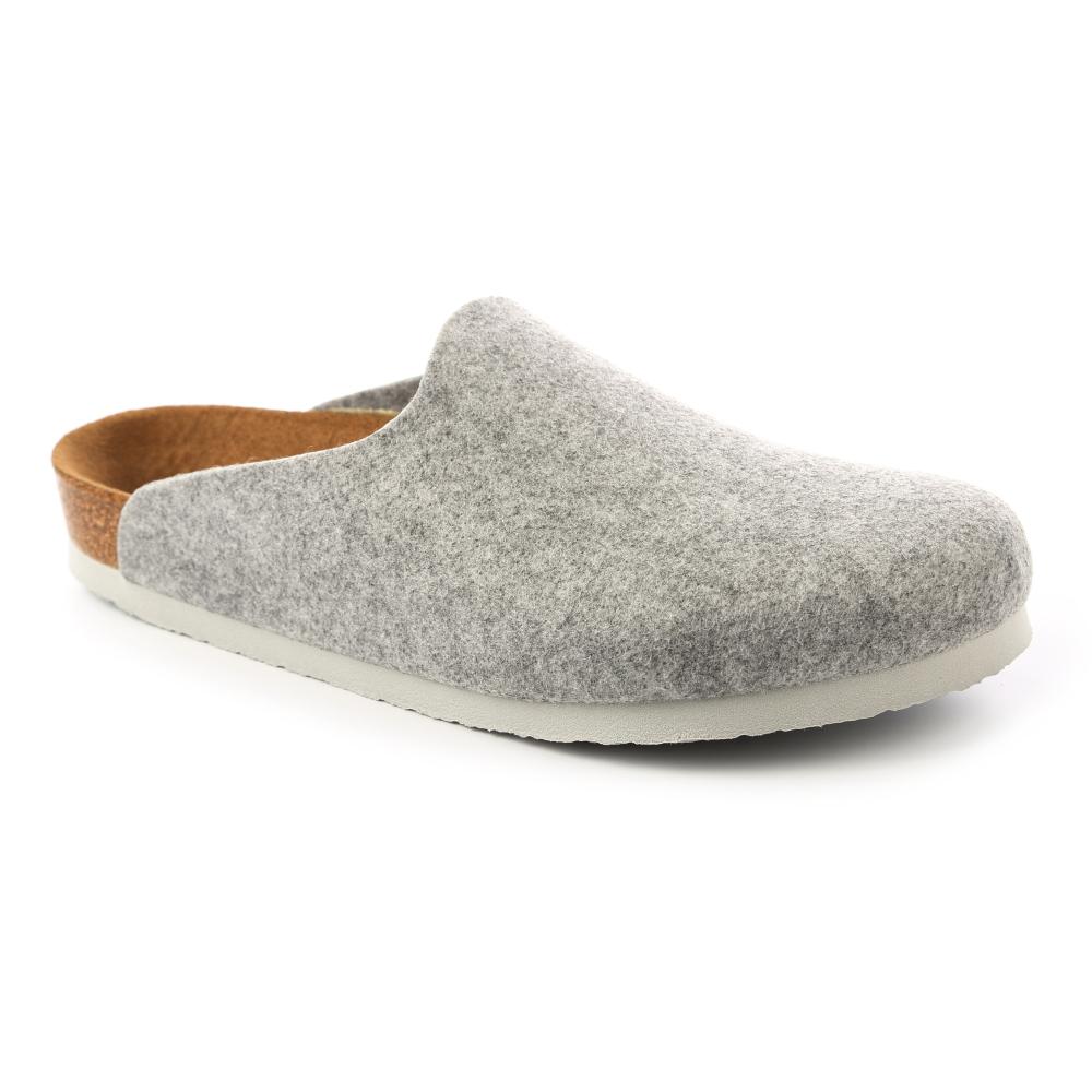 勃肯BIRKENSTOCK559111阿姆斯特丹包頭拖鞋(淡灰)