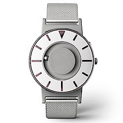 EONE 美國設計品牌 Bradley 觸感腕錶-耀眼紫-不鏽鋼錶帶