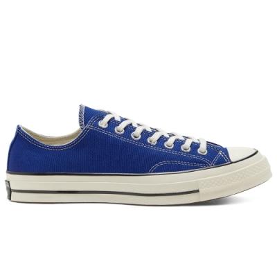 CONVERSE CHUCK 70 低筒休閒鞋 男女 藍色-168514C