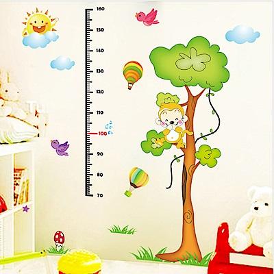 半島良品 DIY無痕壁貼-爬樹身高貼 XL8201 60x90cm