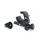 GOPRO機車自行單車把手快拆相機固定支架夾.360度旋轉快拆板手運動攝影機固定夾單車夾