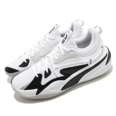 Puma 籃球鞋 RS Dreamer 運動 男鞋 低筒 包覆 支撐 避震 球鞋 穿搭 白 黑 19399001