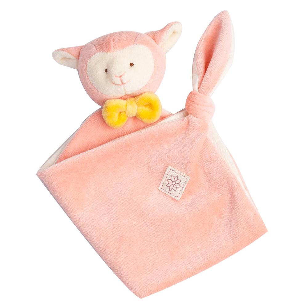 美國miYim有機棉 安撫巾-亮寶羊羊