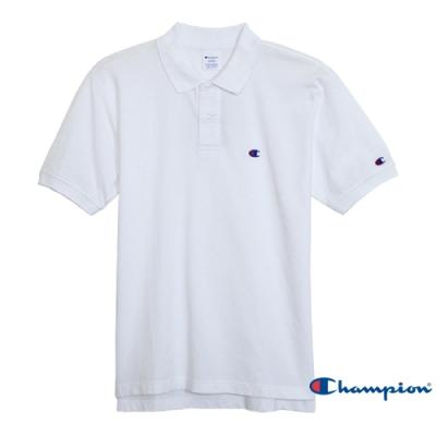 Champion Basic 經典素面Polo衫 白色