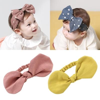 Baby童衣 寶寶頭飾 蝴蝶結造型髮帶 新生兒頭髮飾 88769