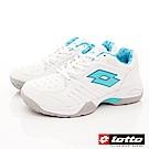 Lotto樂得-全地形網球鞋款 TSI815白/鬆石綠(女段)