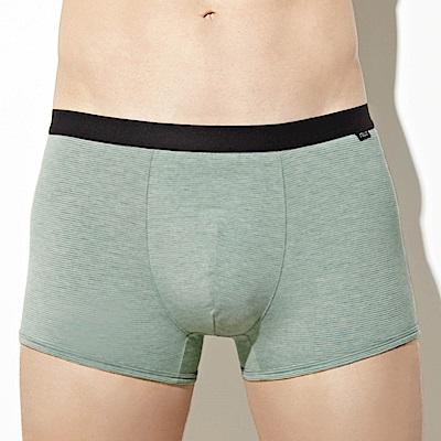SOLIS 咖啡王子系列M-XXL素面貼身四角男褲(冰酷綠)