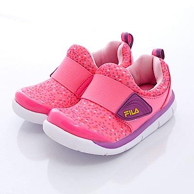FILA頂級童鞋款 輕巧亮彩款 EI58Q299粉(中大童段)0