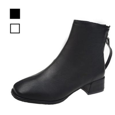 KEITH-WILL時尚鞋館 經典絕美清透馬丁靴