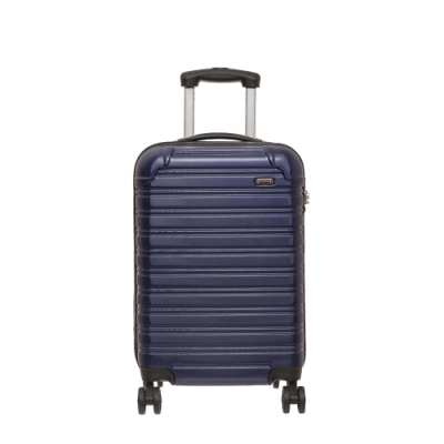 【OUTDOOR】RUSH-20吋拉鍊箱-深藍色 OD1172B20NY
