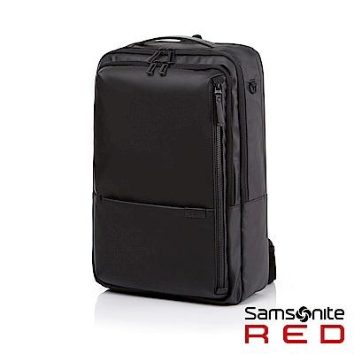 Samsonite RED AURICE-A 都會商務輕量筆電後背包15.6 (黑)