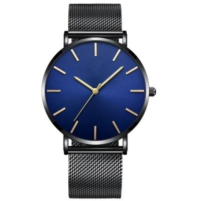 Watch-123 無懼初心-人文情懷商務米蘭帶手錶(2色任選)