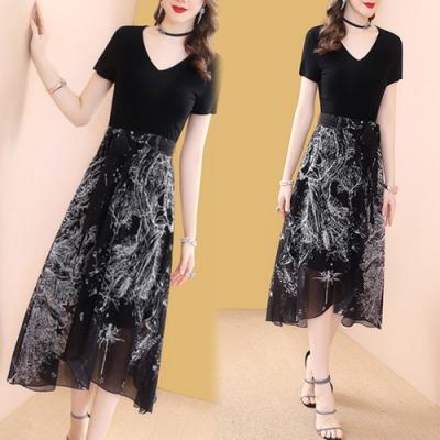 【韓國K.W.】時尚新品簡約綁帶洋裝
