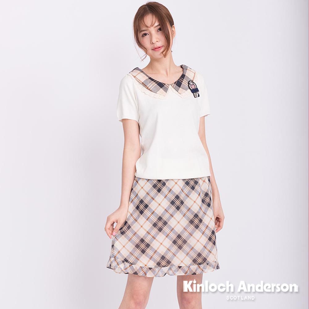 【Kinloch Anderson 金安德森女裝】雪紡下荷葉短裙
