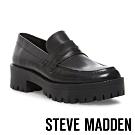 STEVE MADDEN-CREW英式學院風厚底牛津鞋-黑色