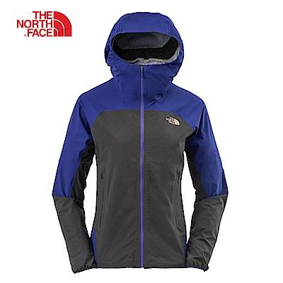 The North Face北面女款深灰色防水透氣防風外套|3LA47QN