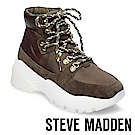STEVE MADDEN-STAMPEDE潮流款徒步旅行運動休閒鞋-墨綠
