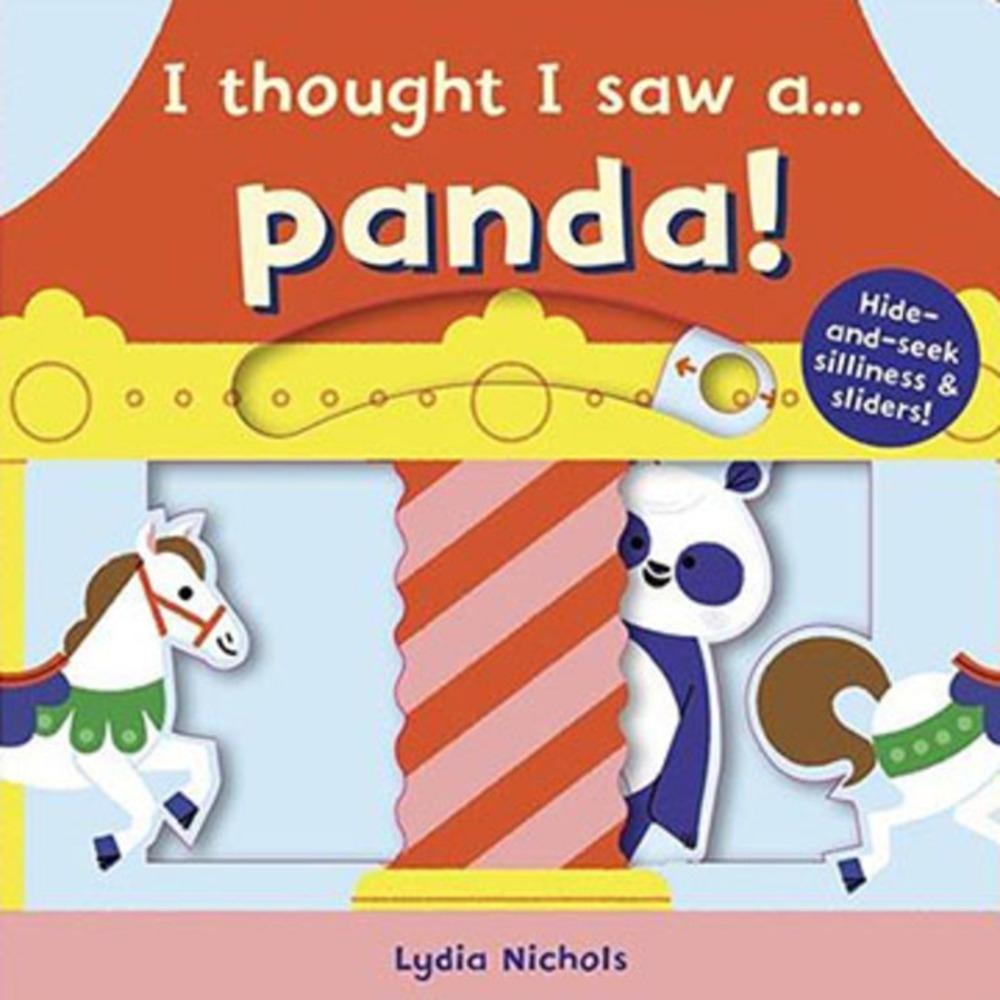 I Thought I Saw A...Panda! 熊貓玩捉迷藏硬頁操作書