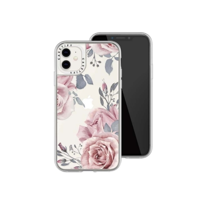 Casetify iPhone 12 mini 輕量耐衝擊保護殼-東方玫瑰