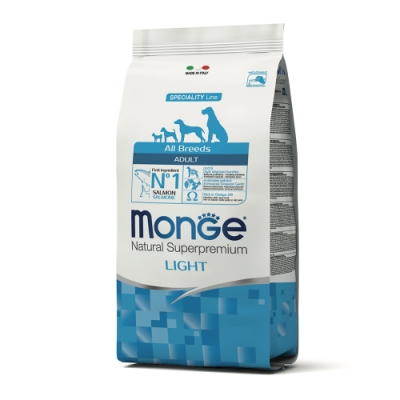 Monge瑪恩吉 天然呵護 低卡成犬糧(鮭魚)12kg
