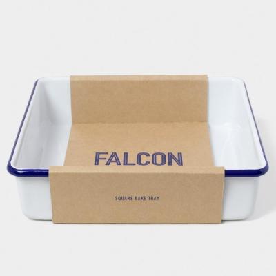 英國Falcon 獵鷹琺瑯 琺瑯2合1烤盤 藍白