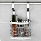 百轉空間 拉絲紋不鏽鋼餐具瀝水架(1入)