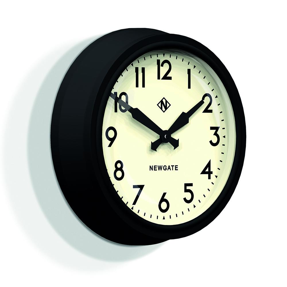 Newgate 英倫風格時鐘-國王十字車站-奶油白-37cm