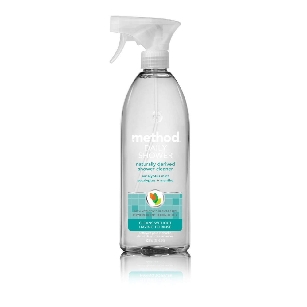 method美則 浴室每日清潔劑-尤加利薄荷828ml